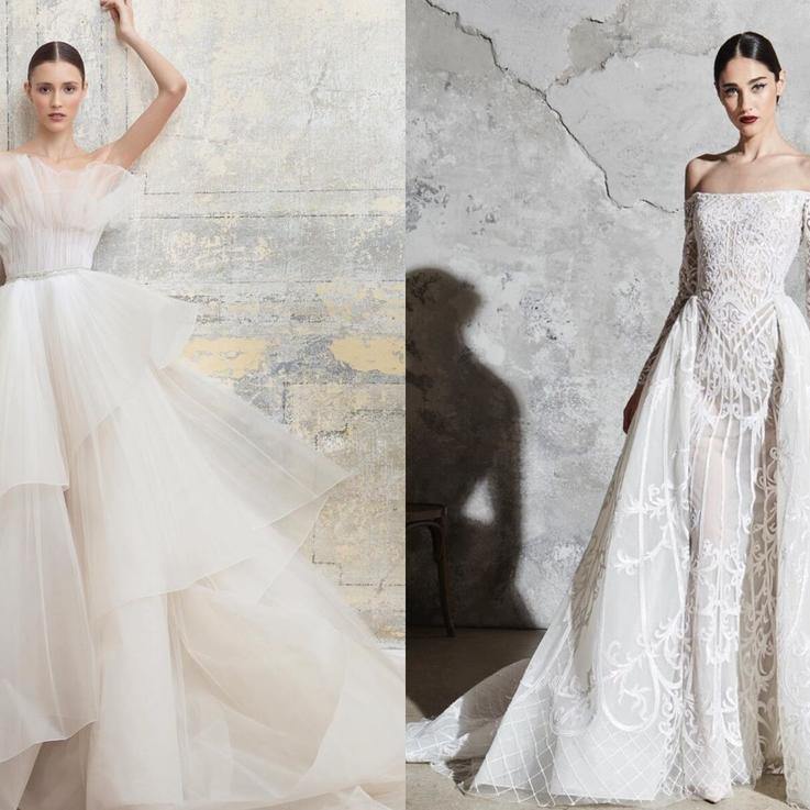 أجمل مجموعات فساتين الزفاف لعام 2020