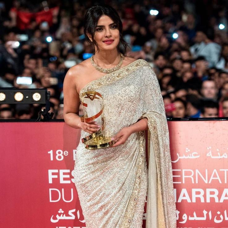 المهرجان الدولي للفيلم بمراكش يكرم بريانكا شوبرا
