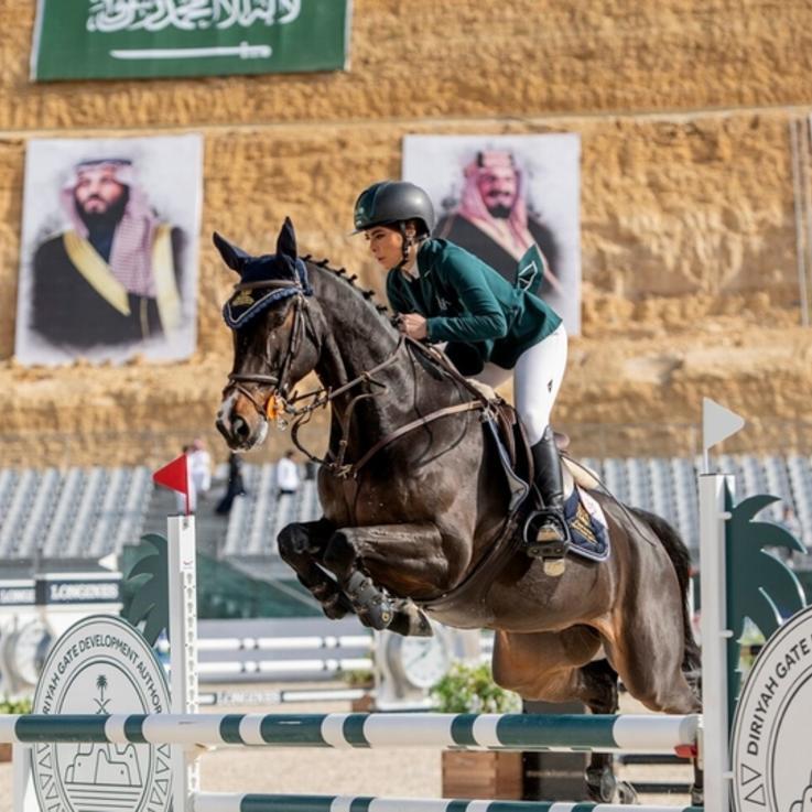 السعوديات يحرزن النجاحات في مضمار سباق الخيل