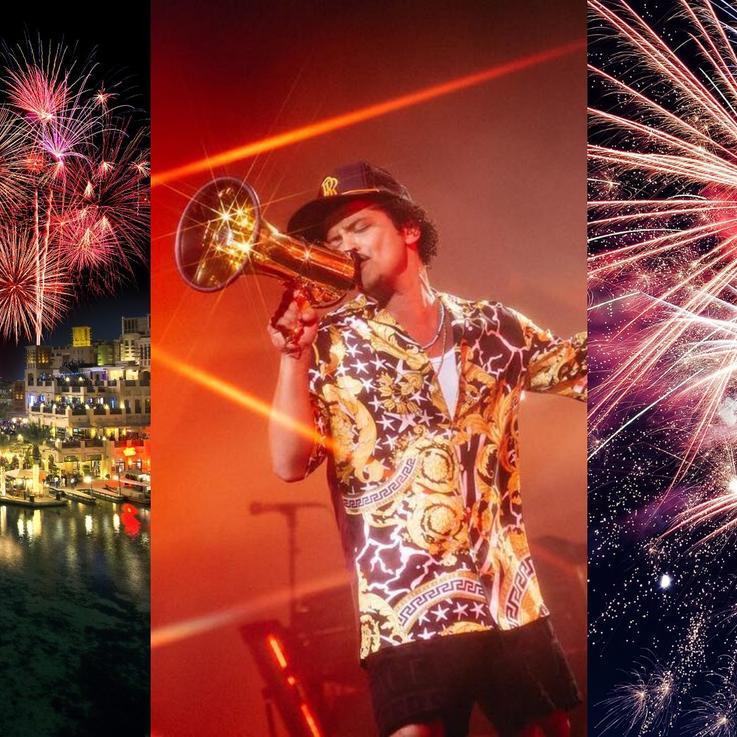 اختاري من بين هذه الاحتفالات برأس السنة في الإمارات العربية