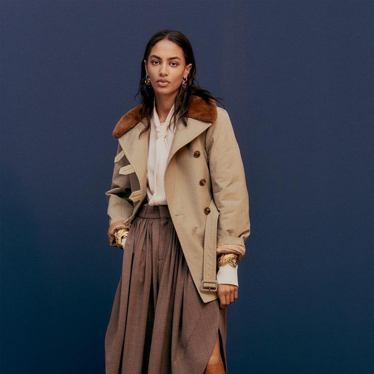ألبوم صور: أجمل الإطلالات من عروض أزياء موسم ما قبل الخريف 2020