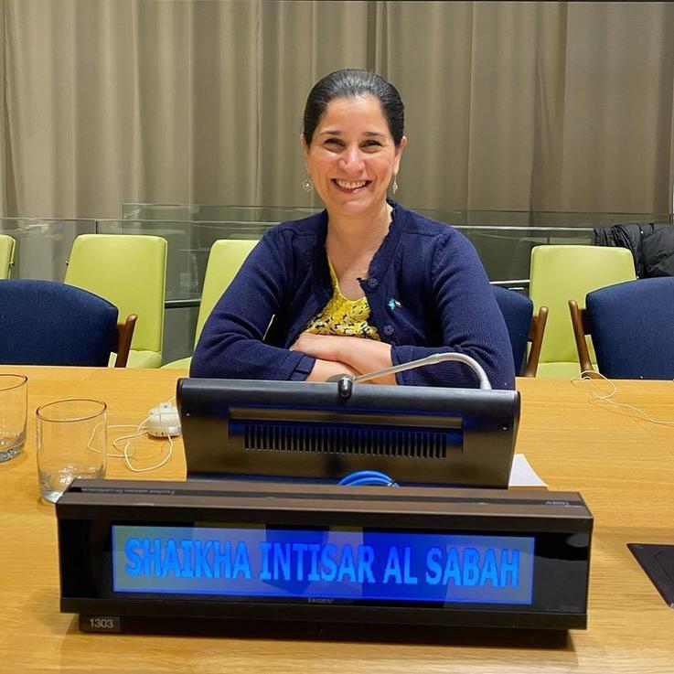 حضور الشيخة انتصار سالم العلي الصباح جلسة حوارية في الأمم المتحدة