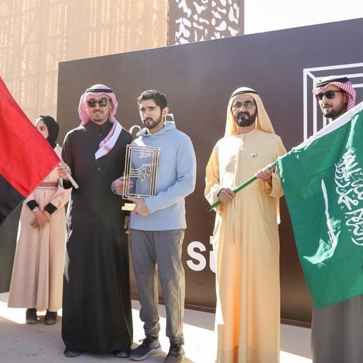 حمدان بن محمد يتوّج بطلاً لكأس خادم الحرمين للقدرة