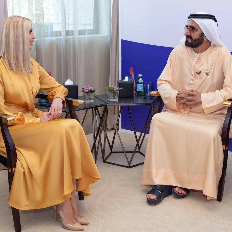 حصرياً: إيفانكا ترامب تسجل رسالة خصيصاً للمرأة في الشرق الأوسط