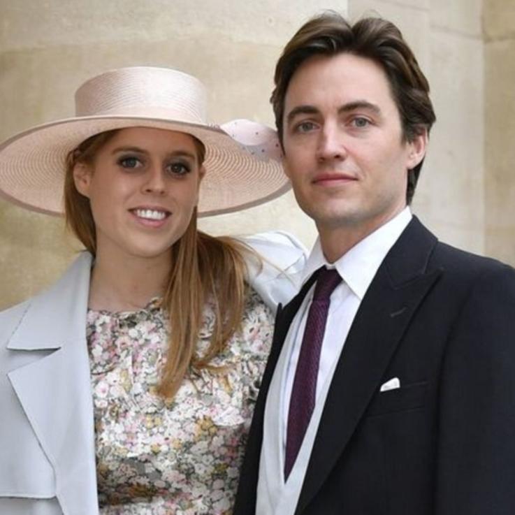 الأميرة بياتريس تلغي حفل استقبال زفافها