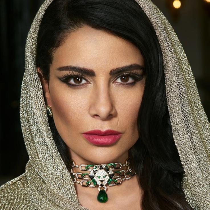 صبا مبارك تشارك تجربتها ونشاطاتها في العزل المنزلي