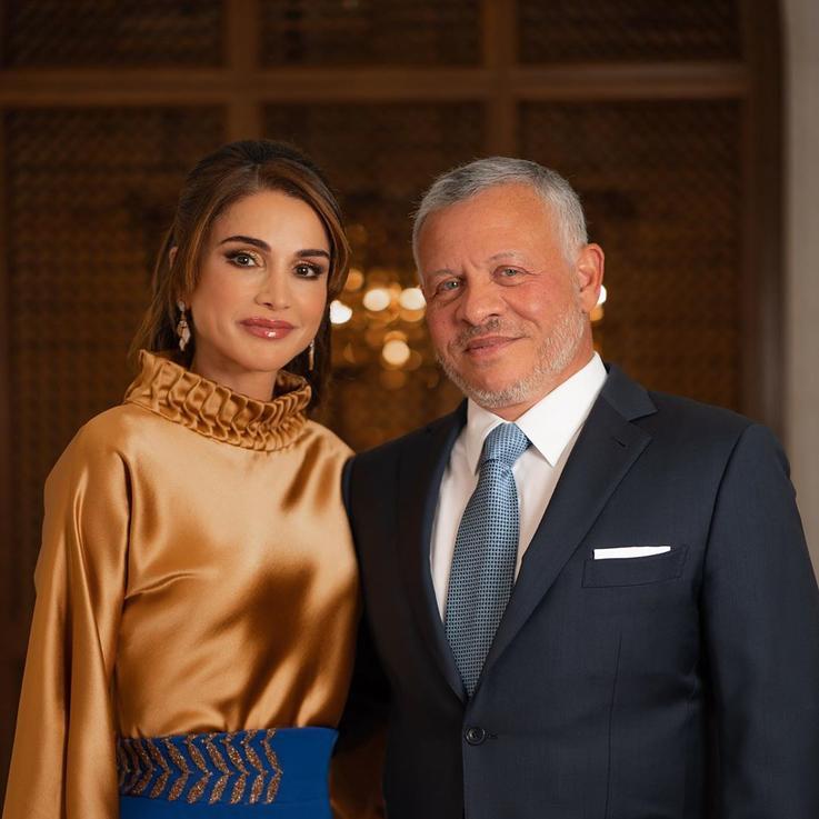 الملكة رانيا تحتفل بعيد زواجها الـ 27 من جلالة الملك عبدالله الثاني