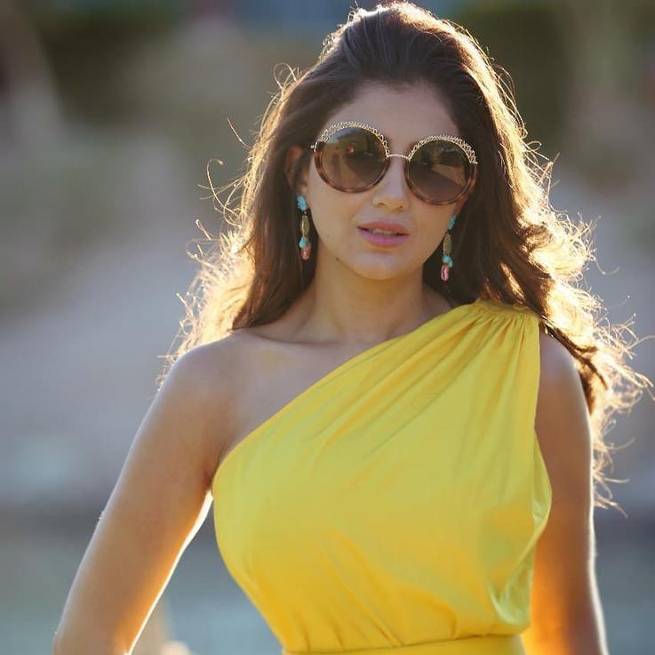 مي عمر في بطولة مطلقة في مسلسلها الجديد