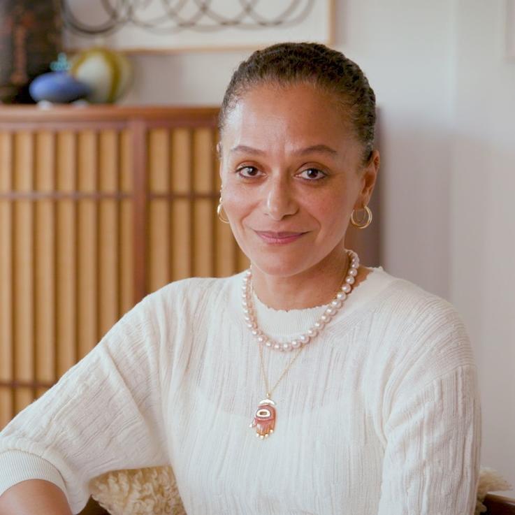 سميرة نصر رئيسة تحرير هاربرز بازار أمريكا الجديدة ذات الأصول اللبنانية