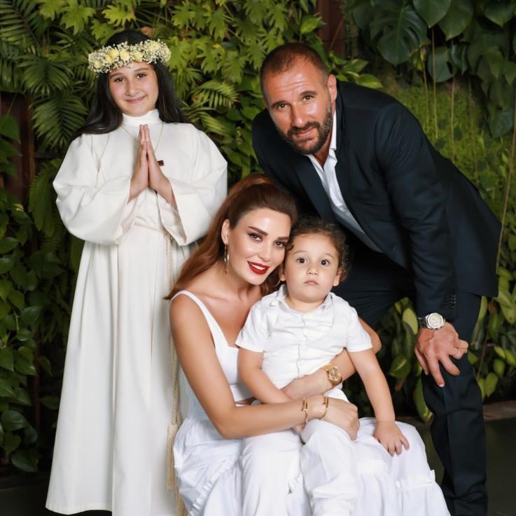 هكذا احتفلت سيرن عبد النور بمرور 13 سنة على زواجها