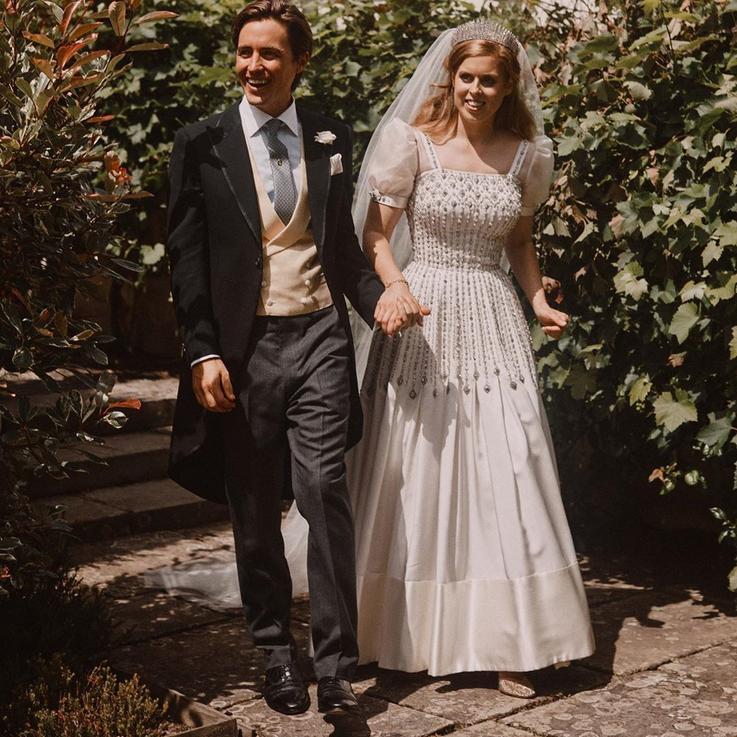ما الذي تعنيه إطلالة الأميرة بياتريس في حفل زفافها لمفهوم الاستدامة في الأزياء؟