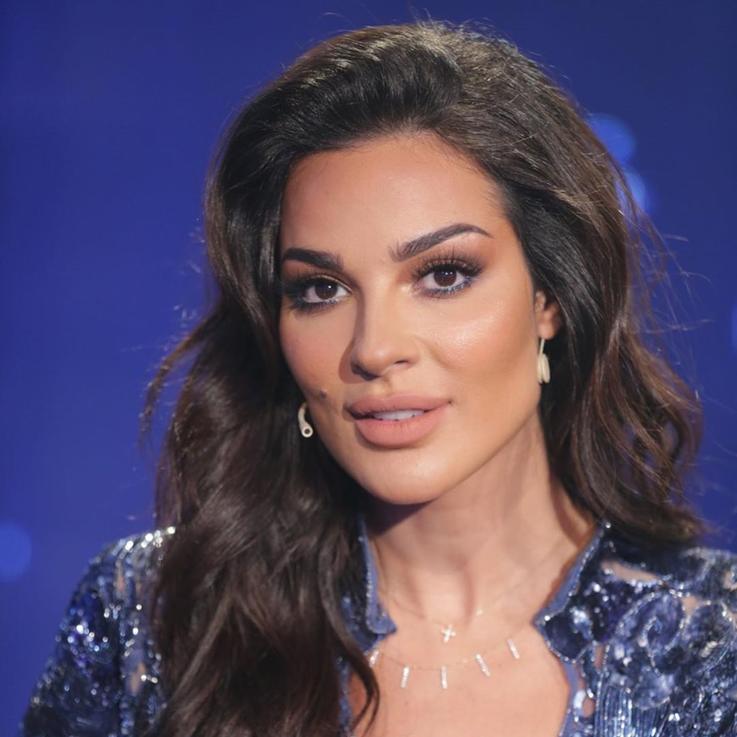 نادين نسيب نجيم تكشف إصابات وجهها في صورة جديدة على انستغرام